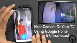 How to Integrate, Control Nest Hello Using Google home ( Mini & Max)  Chromecast With Voice #Verizon