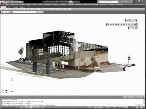 From 3D Laser Scanning to CAD models