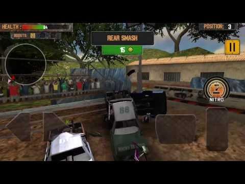 Demolition Derby - Crash Racing game-play trailer