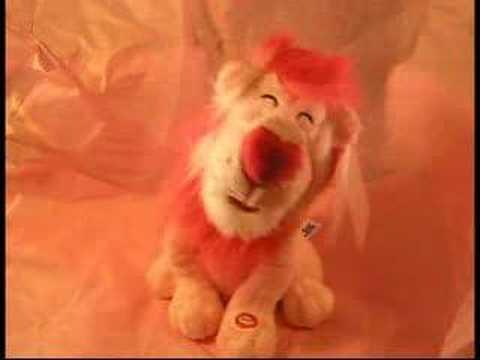 Pink Valentine's Day Lion - ImIrishMary