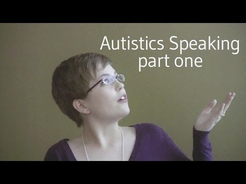 Autistics Speaking: Self-Advocacy in a Culture of Cure (part one)