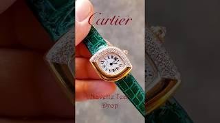 독특한 모양의 아주 예쁜 Cartier  나베뜨 티어드…