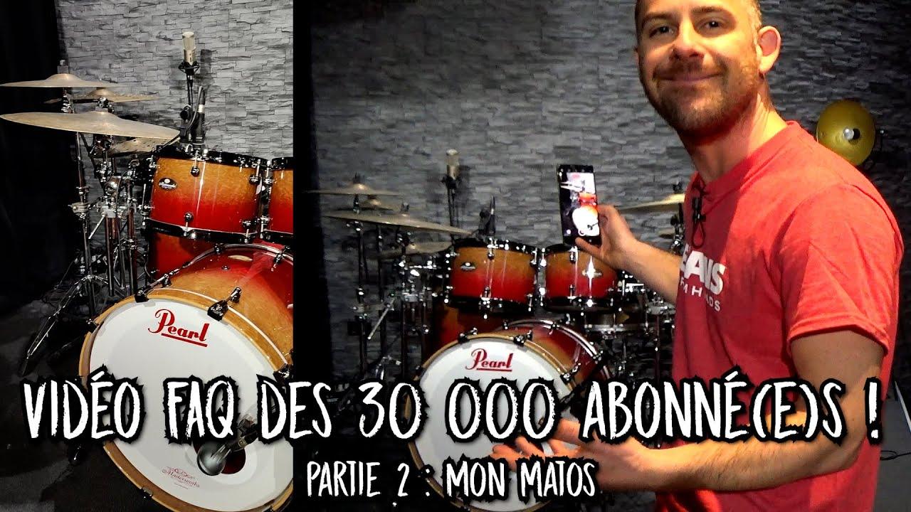 Vidéo FAQ 30 000 abonné(e)s, partie 2 : Mon matos !