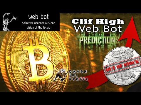 China Gov Promoting bitcoin! Coming Silver Shortage - Clif High's Web Bot Revelations