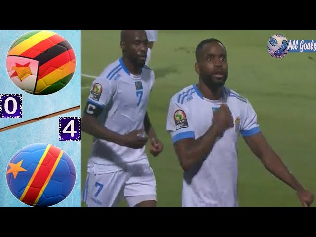 Zimbabwe vs DR Congo 0-4 All Goals & Full Highlights |Africa Cup of Nations 2019|