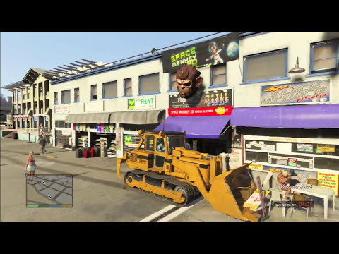 Sly Gameplay - GTA 5 Funny/Brutal Moments Compilation Vol.51 (Bulldozer Edition)