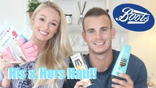 BOOTS HAUL with Charlie!   |   His & Hers Drugstore Haul   |   Fashion Mumblr