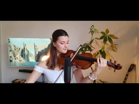 Edge Of Night - Pippin's Song | Lord Of The Rings (violin & Voice Cover By Kristina Ivanovic)