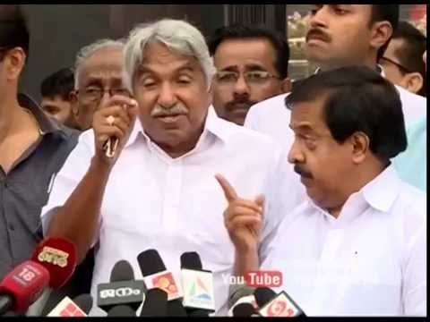 Oommen Chandy responds on Pinaray's controversial remarks