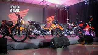 Honda Philippines Unleashed 3 New Motorcycle Models