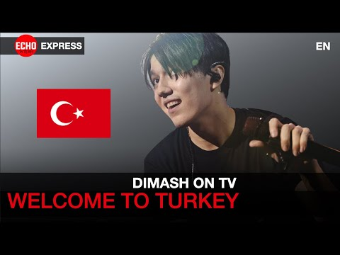 Dimash - Welcome to Turkish TV - Thank you DEARS! [Express News]
