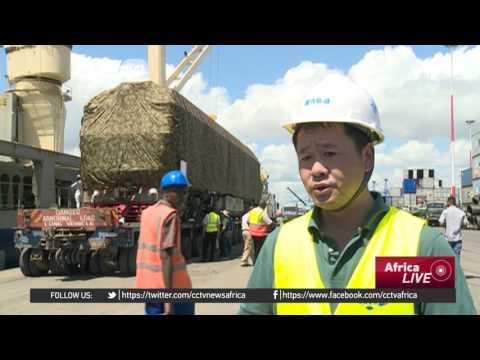 Construction of Kenya Railways Picking Up
