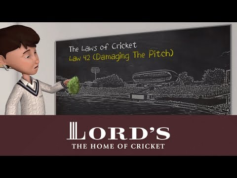 Damaging the pitch | The Laws of Cricket with Stephen Fry