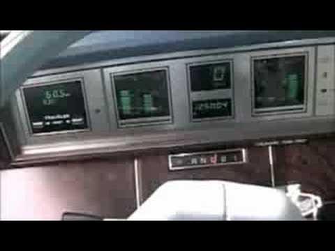 1987 Chrysler New Yorker Voice Alert (EVA)