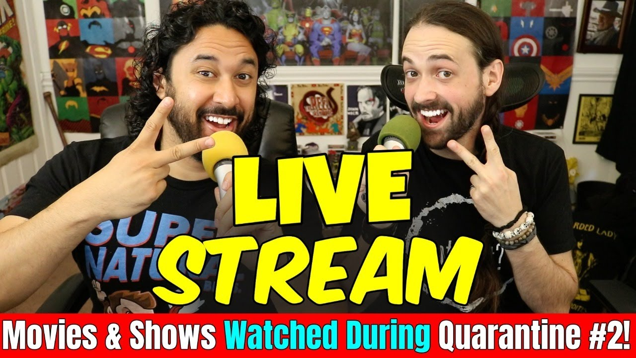 MORE Movies & Shows We've Watched During QUARANTINE | Saturday Night LIVE STREAM!