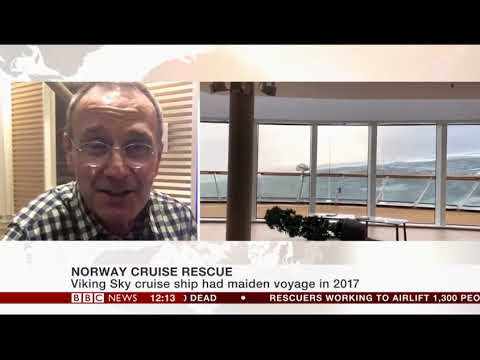 Update from a passenger on Viking Sky as ship sails to port