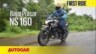 Bajaj Pulsar NS160 | First Ride | Autocar India