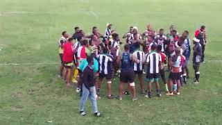Linda Lions rugby club Haka