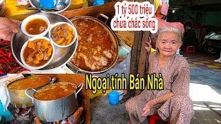 Sốc với hoàn cảnh đáng thương của Bà Ngoại 82 tuổi bán Phá lấu đường Phan Đình Phùng