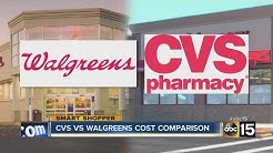 Walgreens vs. CVS: Who has better prices