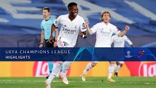 UEFA Champions League | QF | 1st Leg | Real Madrid v Liverpool | Highlights