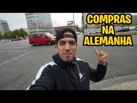 COMPRANDO PRESENTES NA ALEMANHA
