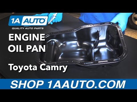 How to Replace Install Engine Oil Pan 1992-01 Toyota Camry Buy Quality Parts from 1AAuto.com