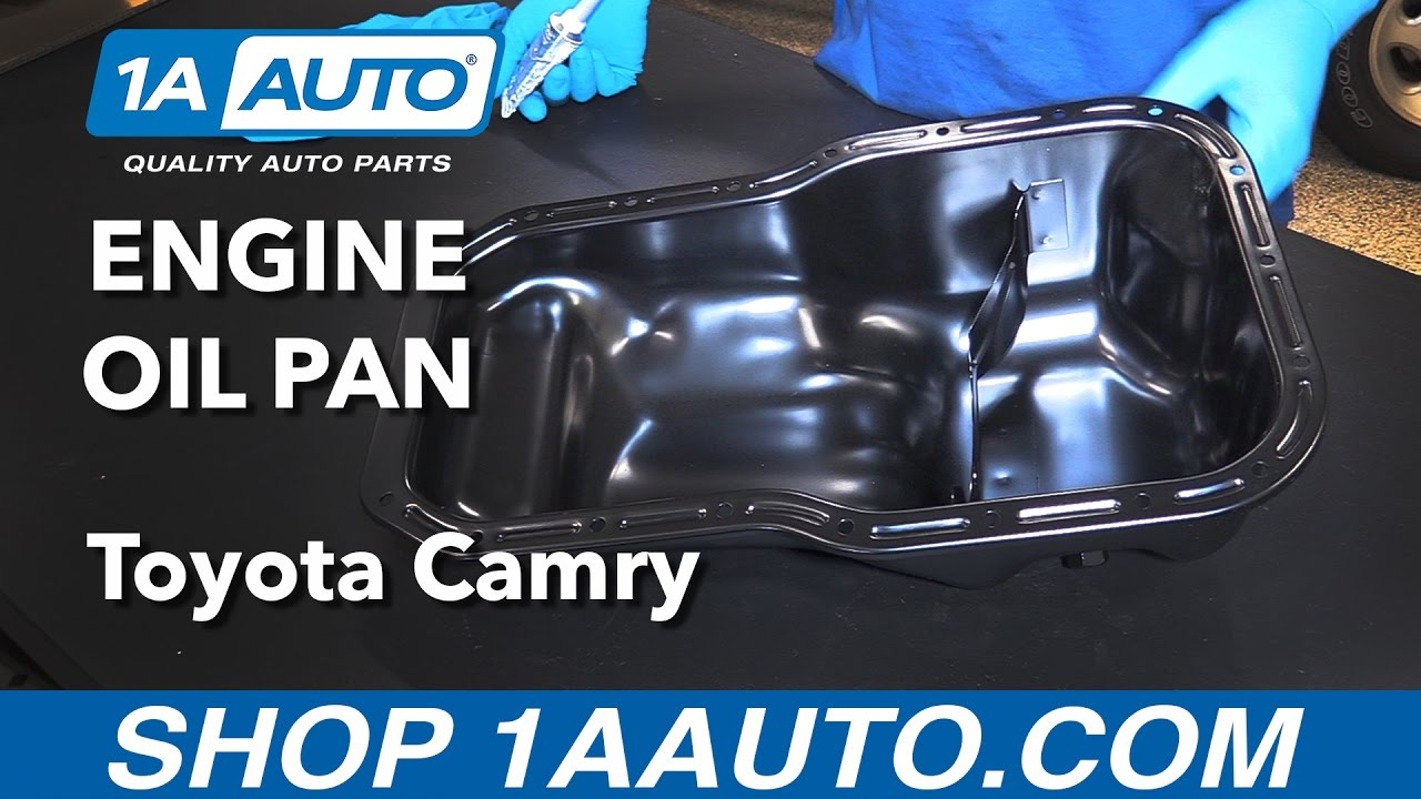 How To Replace Install Engine Oil Pan 1992 01 Toyota Camry Buy 1993 V6 Parts Diagram Quality From 1aautocom Youtube