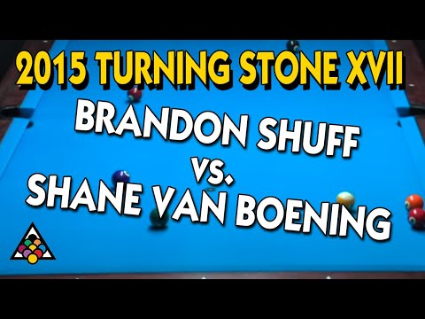 Turning Stone - Brandon Shuff vs. Shane Van Boening