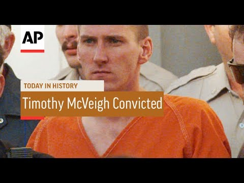 Timothy McVeigh Convicted - 1997 | Today In History | 2 June 17