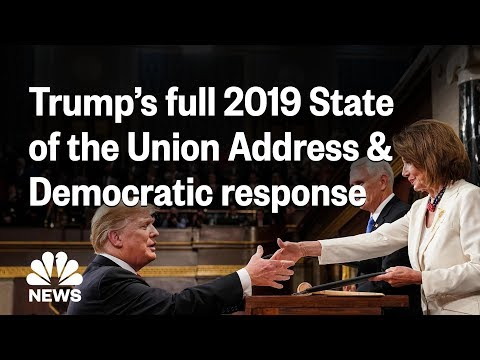 2019 State Of The Union: Trump's Address And Stacey Abrams' Response | NBC News