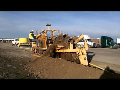 2010 Wolfe Man 8000 Wheel Trencher For Sale Sold At A
