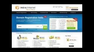 Domain Registration & Web Hosting Services | India Internet