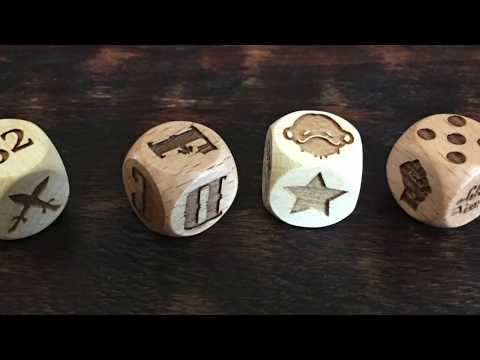 Custom Engraved Dice - The Game Crafter