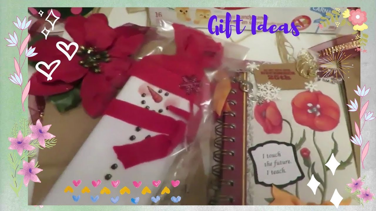 Fun Easy Christmas Gifts For Teachers And Classmates Crafts For Kids Neldascrafts Youtube
