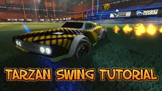 One of Mittens's most viewed videos: NEW OP SHOT? Tarzan Swing Rocket League Tutorial