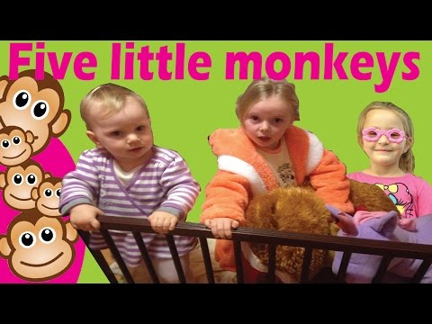 Five Little Monkeys Jumping On The Bed | Emma Timea
