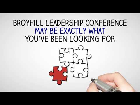 Broyhill Leadership Conference Youtube