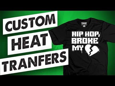 The Best Custom Heat Transfers? Easy Way