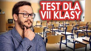 Test Wiedzy VII KLAS
