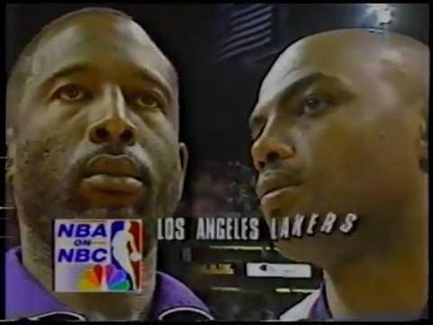 LA Lakers @ Phoenix Suns - Rd 1, Gm 5, 1993 NBA Playoffs - 5/9/93
