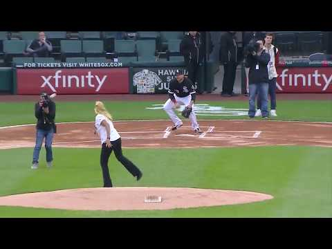Shannon The Dude - Worst First Pitch In Baseball History?