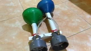 Download lagu Klakson Lokomotif CC 201 Dari Bahan PVC MP3