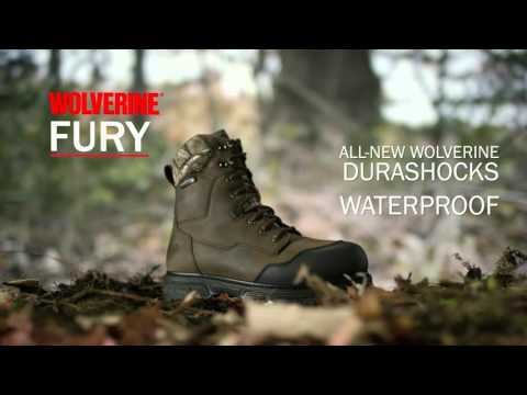 2cf6808b4b3 Wolverine Fury Insulated Hunting Boot - YouTube