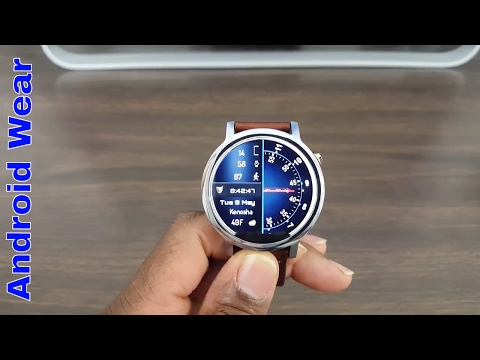 Top 5 Android Wear Watch Faces  2017