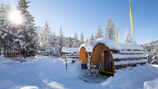 TCS Camping Scuol auch im Winter