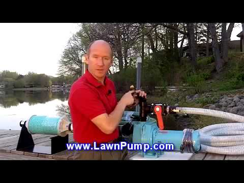 Pump It Watering From A Pond Or Lake Youtube