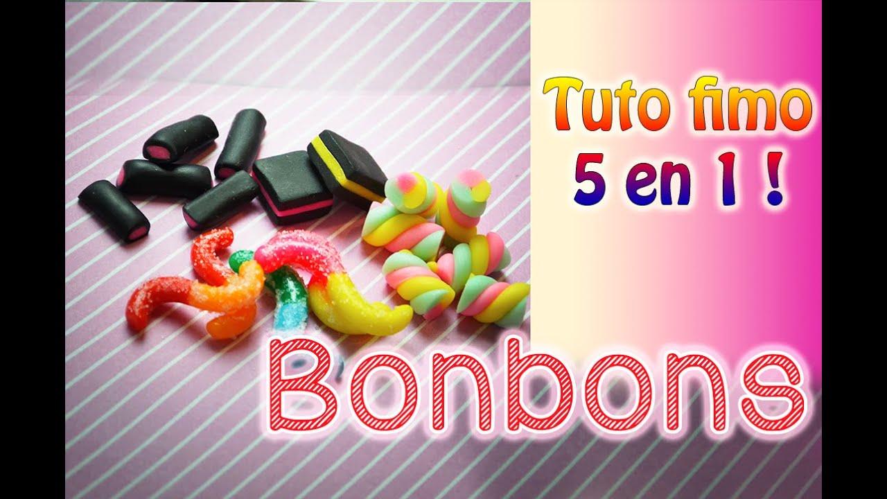 Tuto Fimo Bonbons En Fimo Cernit Facile Youtube
