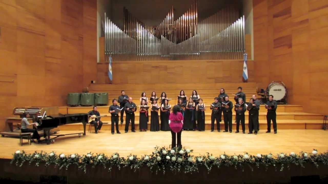 Pregones del Altiplano - Coro Mixto del Ministerio de Educación - CANTO EN SOL 2013