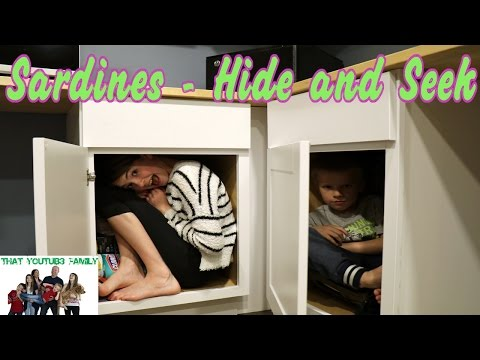 Thumbnail: Funny Family Sardines Game- Hide and Seek